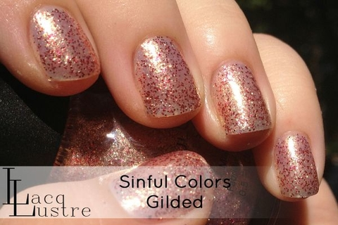Gilded - Sinful Colors Glitz & Glittered - comprar online