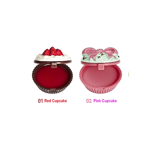 Kit com 2 Lip Balm Cupcake Holika Holika na internet