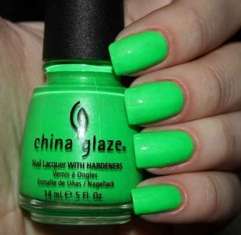 In the Lime Light - China Glaze na internet