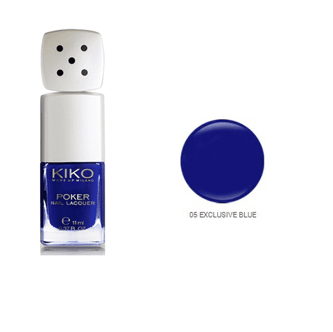 Kiko Poker 05 Exclusive Blue - comprar online
