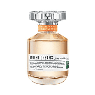 United Dreams Stay Positive EDT Feminino 80ml Benetton