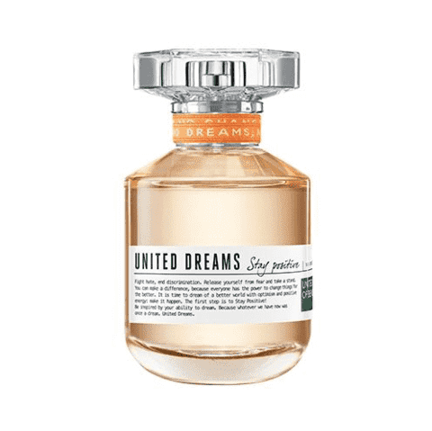 United Dreams Stay Positive EDT Feminino 50ml Benetton