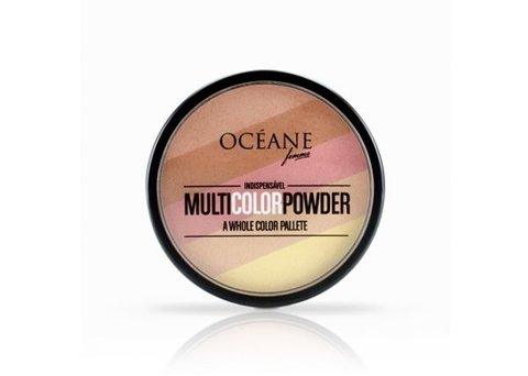 Multi Color Powder Matte Oceane Femme - comprar online
