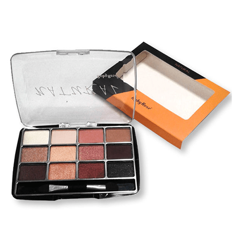 Natural   - Kit de 12 Sombras Ruby Rose (modelo quadrado) - comprar online