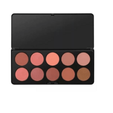 Paleta Nude Blush - 10 Color Blush Palette BH Cosmetics