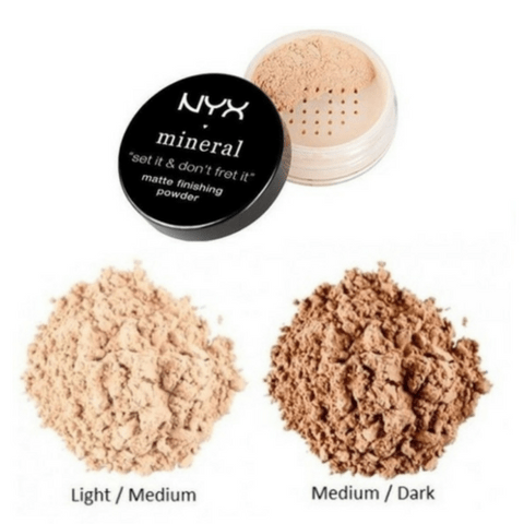 Matte Finishing Powder Mineral NYX - MFP01 LIGHT/MEDIUM na internet