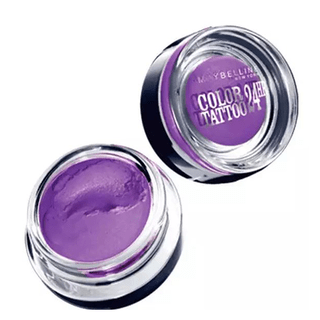 Painted Purple Color Tatoo  24 Horas  - Maybelline