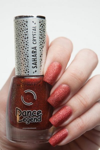 Red Heat Sahara Crystal (Sand effect) Dance Legend