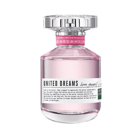 United Dreams Love Yourself EDT Feminino 50ml Benetton