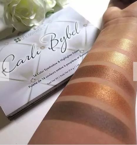 Imagem do Carli Bybel 14 Color Eyeshadow & High Palette Bh Cosmetics