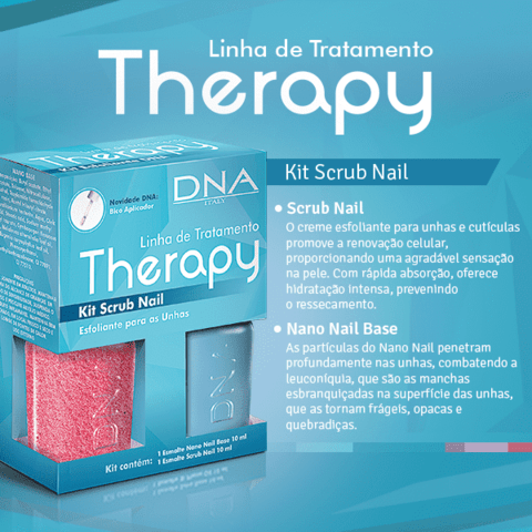 Kit Scrub Nail - Therapy DNA Italy