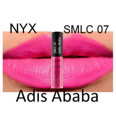 Addis Ababa NYX Soft Matte Lip Cream SMLC07 na internet
