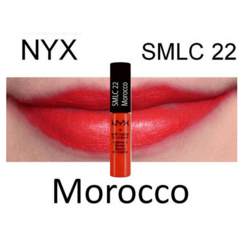 Morocco  NYX Soft Matte Lip Cream SMLC22 na internet