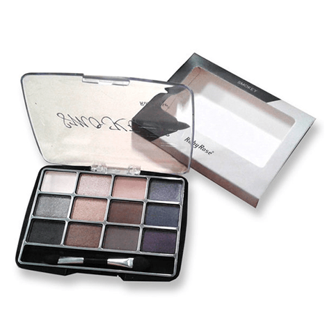 Smokey - Kit de 12 Sombras Ruby Rose (modelo quadrado)