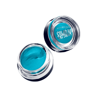 Tenacious Teal  Color Tatoo  24 Horas  - Maybelline