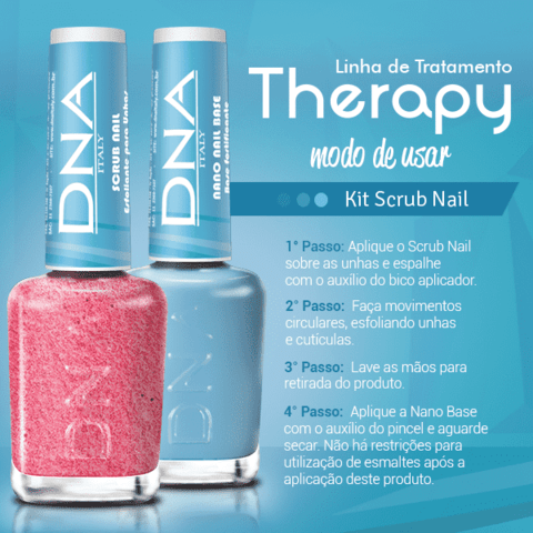 Kit Scrub Nail - Therapy DNA Italy - comprar online