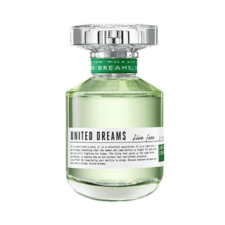 United Dreams Live Free EDT Feminino 80ml Benetton