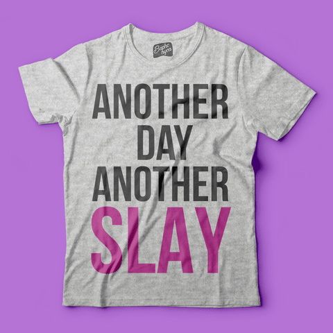 "T-Shirt RPDR - All Stars 3: Bebe Zahara Benet ""Another Day Another Slay"" na internet"