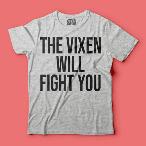 Camiseta RPDR: The Vixen Will Fight You na internet