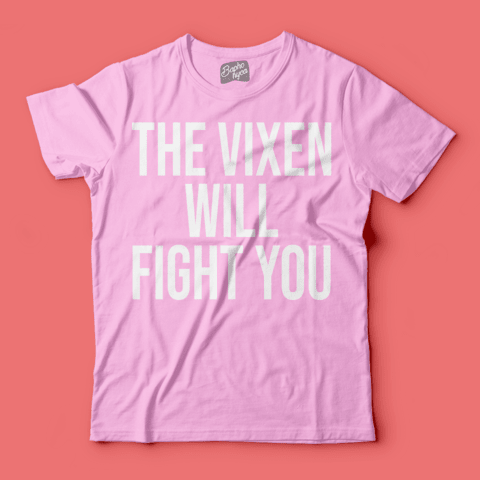 Camiseta RPDR: The Vixen Will Fight You - Baphonyca Store