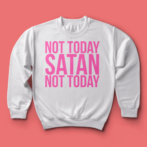 Imagem do Moletom RPDR: Not Today Satan