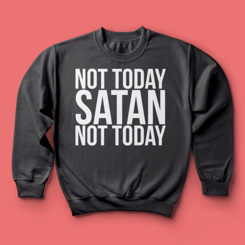 Moletom RPDR: Not Today Satan - loja online
