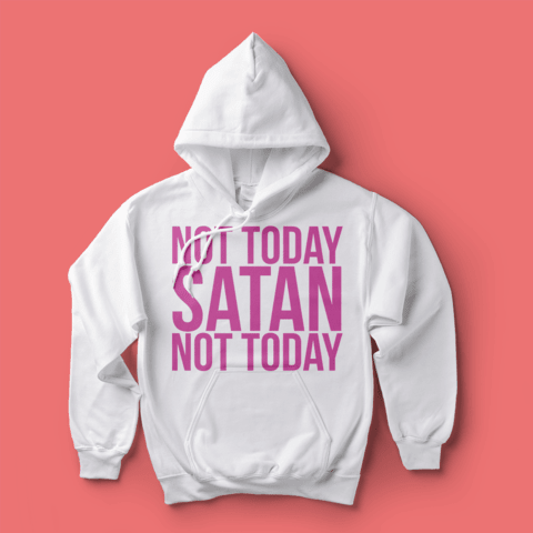 Moletom RPDR: Not Today Satan - comprar online