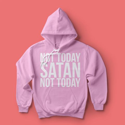 Moletom RPDR: Not Today Satan - Baphonyca Store