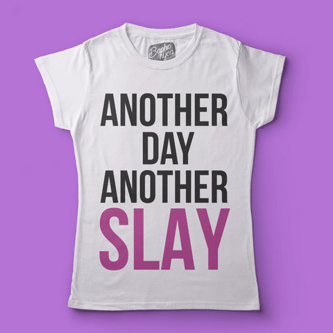 "Imagem do T-Shirt RPDR - All Stars 3: Bebe Zahara Benet ""Another Day Another Slay"""