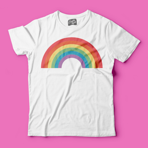 T-Shirt PRIDE: Rainbow