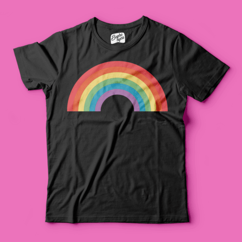T-Shirt PRIDE: Rainbow na internet
