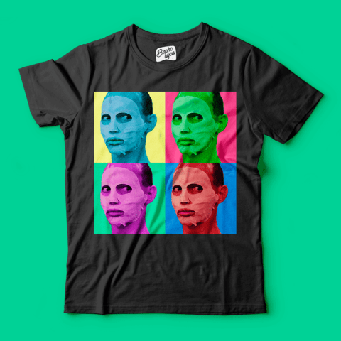 Camisa RPDR - All Stars 2: Alyssa Edwards - Pop Art - loja online