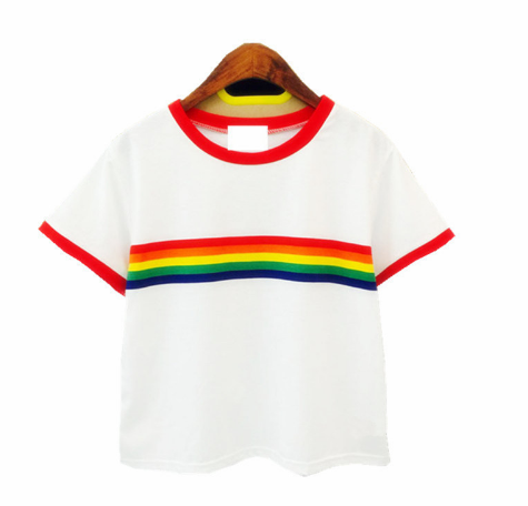Rainbow Top Shirt