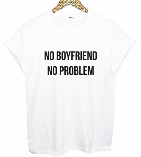 No Boyfriend No Problem - comprar online