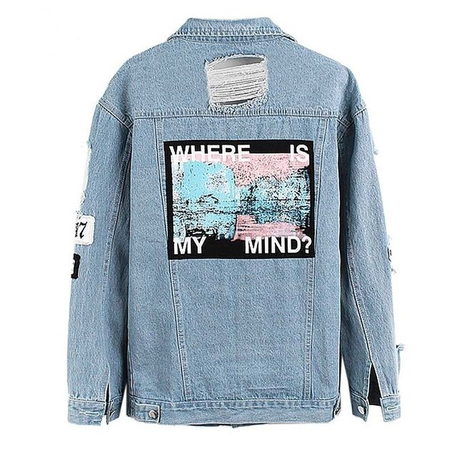 Where Is My Mind Jacket - comprar online