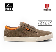 ZAPATILLAS REEF RIDGE TX GUNMETAL / BURLAP