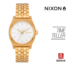 RELOJ TIME TELLER GOLD 31 MM