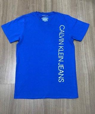 Camisa Calvin Klein Med Blue