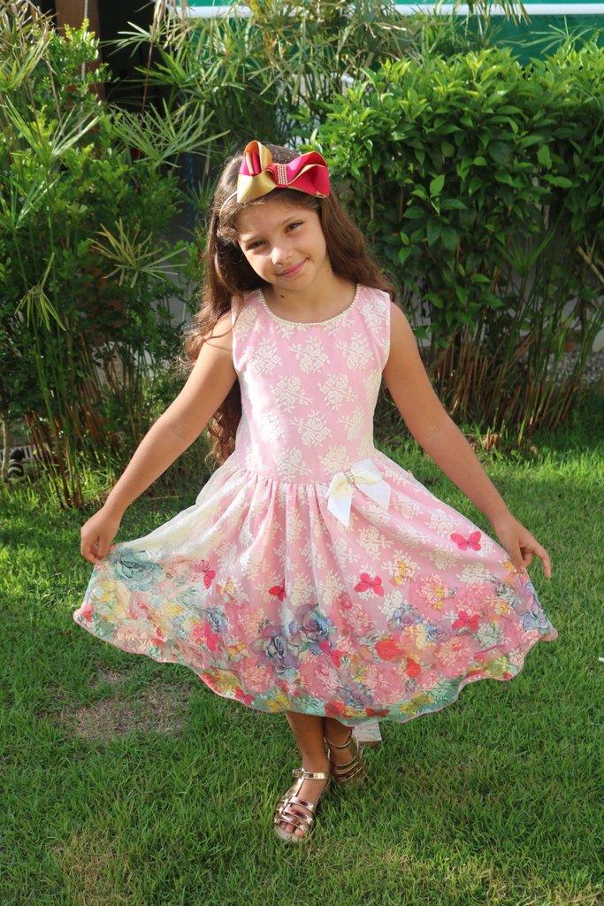 5f3d4c310 Vestido Rose Flowers - Garotada - Boutique dos Pequenos
