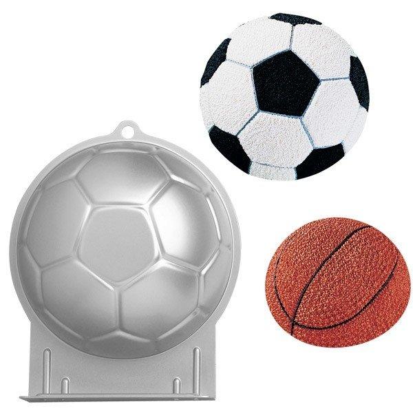 3f6afc3e0 Forma em formato de bola de futebol - Tia Marlene
