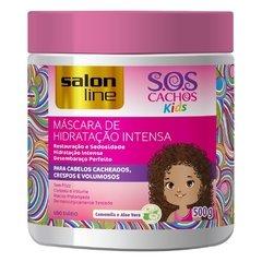 MÁSCARA DE HIDRATAÇÃO INTENSA SOS CACHOS KIDS 500G - SALON LINE