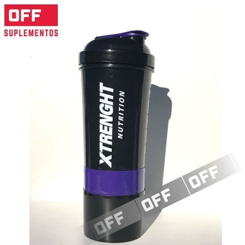 XTRENGHT SHAKER 3 EN 1 - 500ML. - XTRENGHT NUTRITION