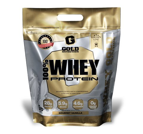 WHEY PROTEIN 5 LBS - GOLD NUTRITION