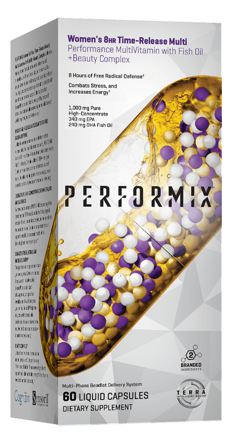WOMEN'S SPORT MULTIVITAMIN + FISH OIL  60Caps - PERFORMIX