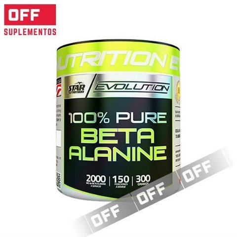 BETA ALANINA 300Grs - STAR NUTRITION