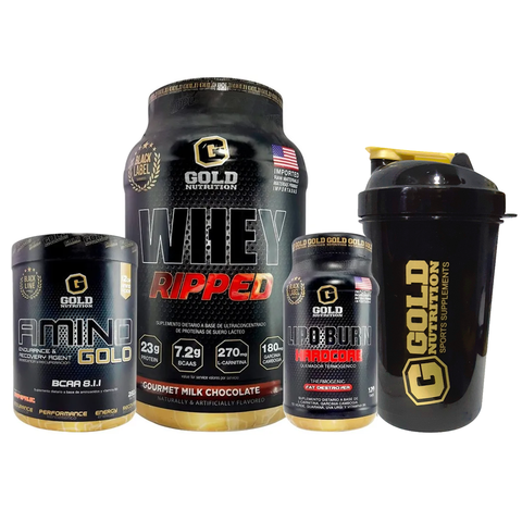 COMBO QUEMADOR + SHAKER - GOLD NUTRITION