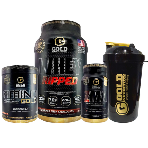 COMBO TONIFICADOR + SHAKER - GOLD NUTRITION