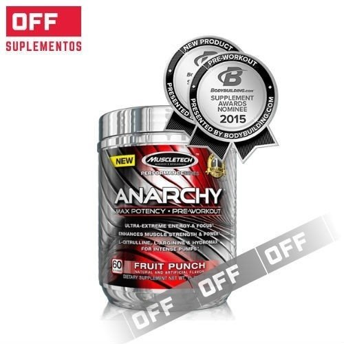ANARCHY x 445Grs - MUSCLETECH