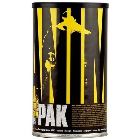 ANIMAL PAK 44 SERVICIOS - UNIVERSAL NUTRITION
