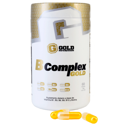 B-Complex 60caps - Gold Nutrition